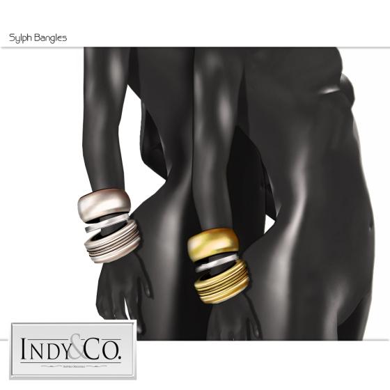 Indy& Co. Sylph bangle ad